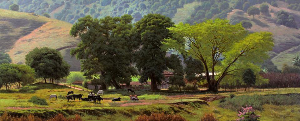 As paisagens em óleo sobre tela do super talento de José Rosário