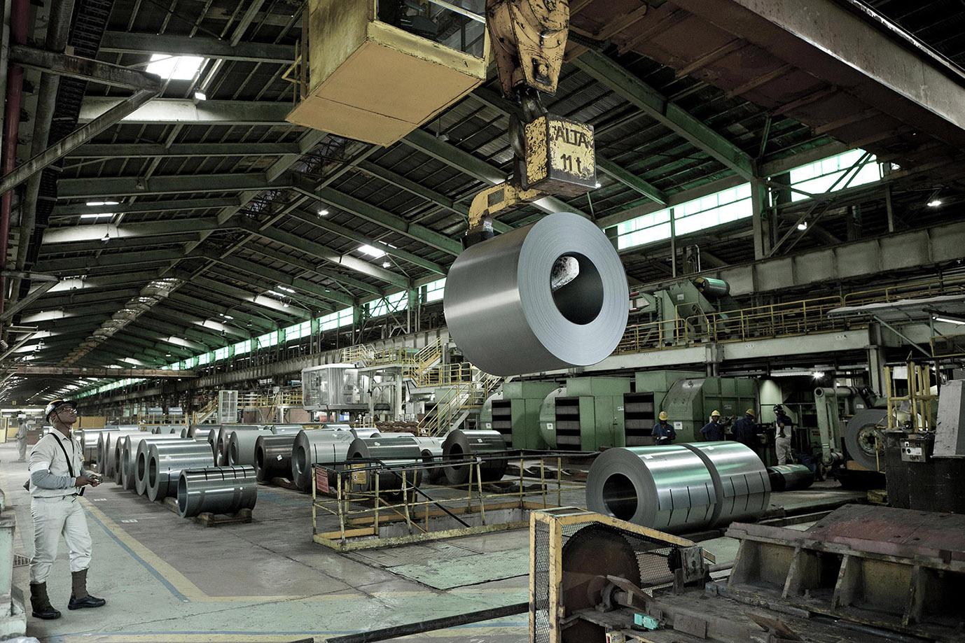 Presidente da Aperam assegura retomada da produção do aço.