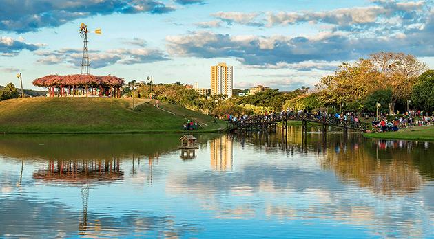 Parque Ipanema, uma das maiores áreas verdes em perímetro urbano do país
