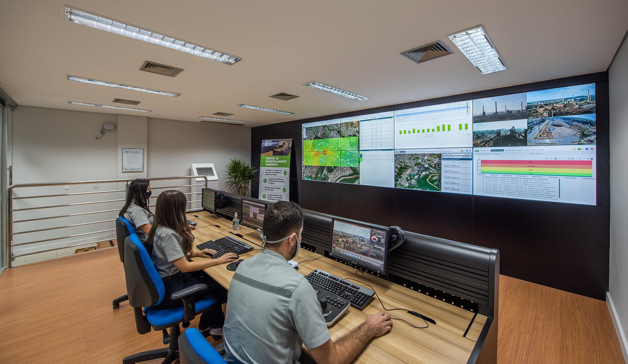 Reforço no monitoramento ambiental da Usina de Ipatinga