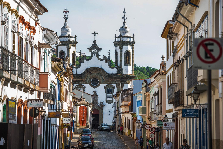 Arraial Novo do Rio das Mortes, o antigo nome de São João del-Rei, uma das maiores cidades setecentistas mineira