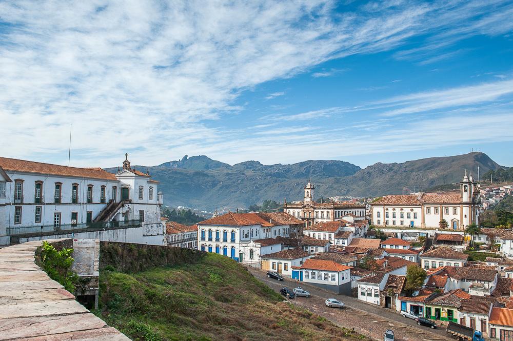 """Capital da Capitania de Minas Gerais em 1720, em 1823 recebe o título de """"Imperial Cidade"""""""