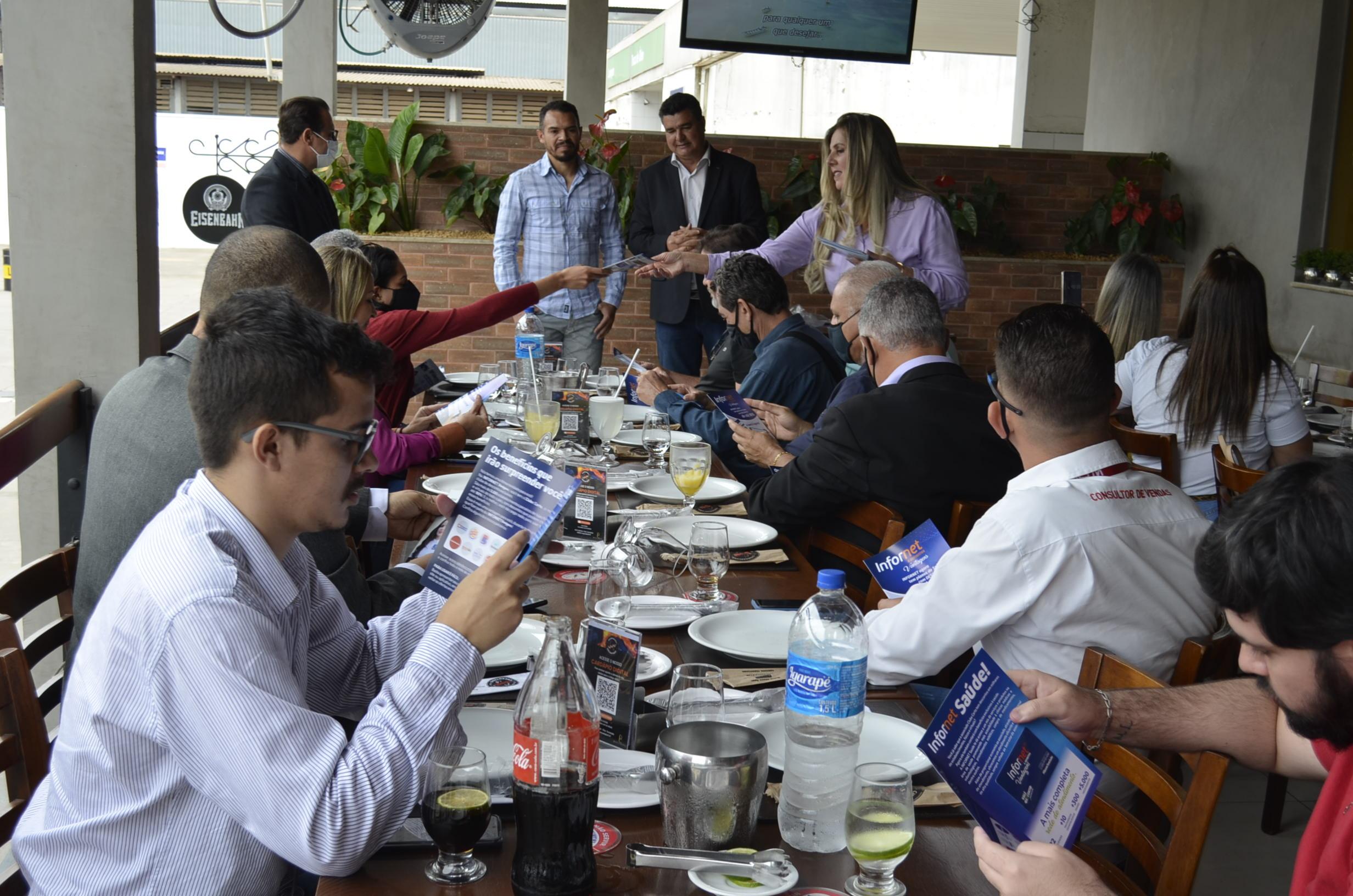 Infornet reúne imprensa e anuncia expansão de negócios e novidades